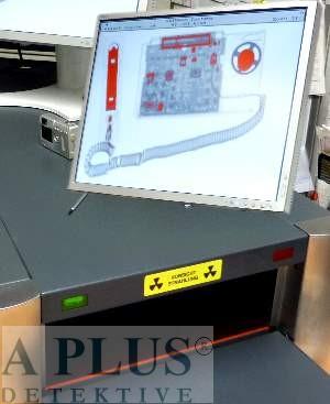 Lauschabwehr mit mobilem Röntgengerät