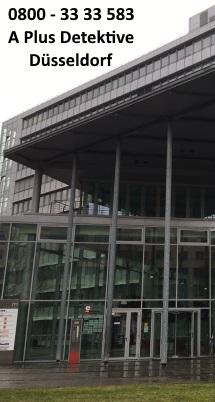 Gebäudeansicht der Dependance Düsseldorf, Grafenberger Allee 293, 40237 Düsseldorf