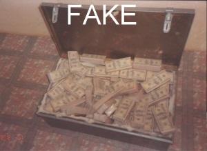 Fake Geldkoffer