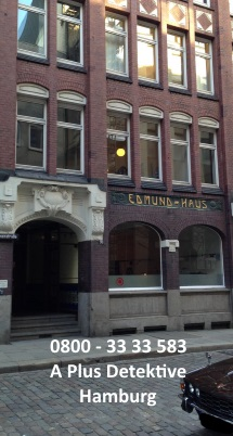 Gebäudeansicht der A Plus Detektive für Hamburg