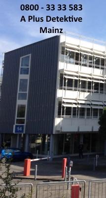 Gebäudeansicht der A Plus Detektive für Mainz, Wilhelm-Theodor-Römheld-Str. 14, 55130 Mainz