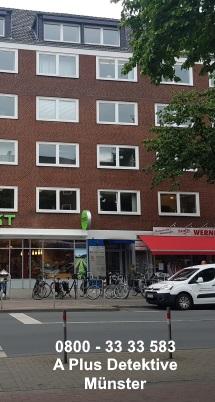 Gebäudeansicht der Dependance Münster, Hammer Straße 39, 48153 Münster