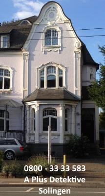 Gebäudeansicht der A Plus Detektive für Solingen, Weyerstr. 26, 42697 Solingen