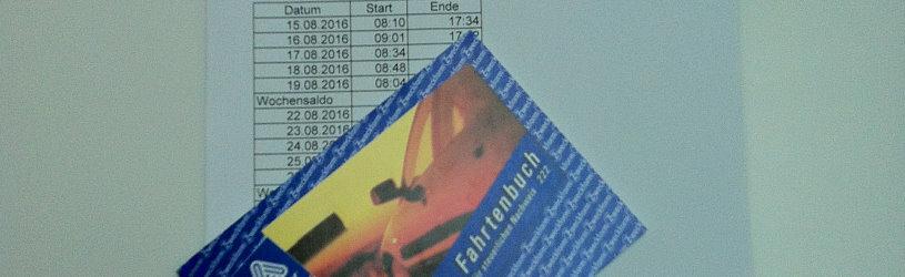 Gefälschte Stundenzettel und falsches Fahrtenbuch bei Arbeitszeitbetrug