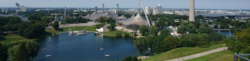 Detektive observieren im Olympiapark in München