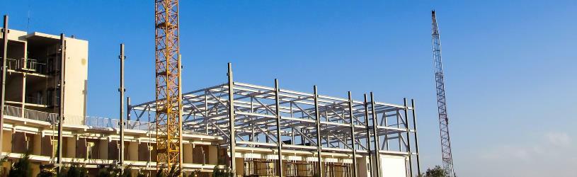 Baustelle - hier baut der angebliche Bauunternehmer, der in Wirklichkeit ein Betrüger ist.