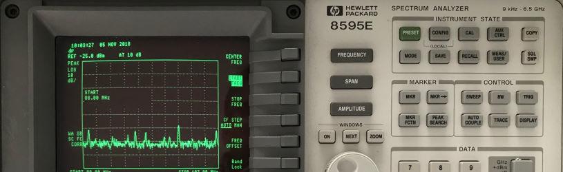 Equipment für die Suche nach Abhörgeräten im Rahmen einer Lauschabwehr