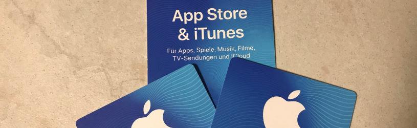 Warnung vor Betrug mit iTunes Karten