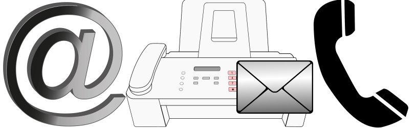 Sie können einen Detektiv per Post, Fax, Telefon, E-Mail oder im persönlichen Gespräch beauftragen.