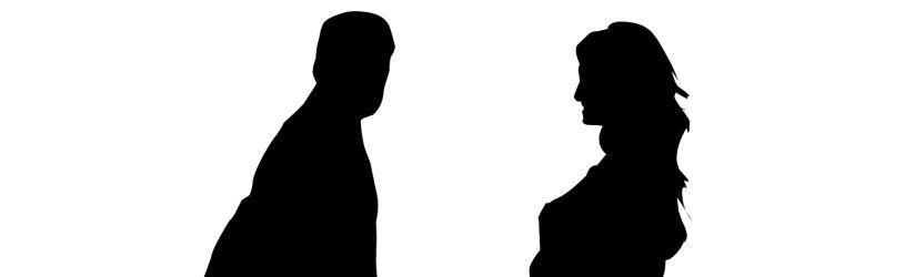 Partner konfrontieren mit Betrug.